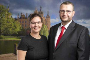 Rechtsanwalt Volker Wilfried tiek und Assistentin Susanne Conrad